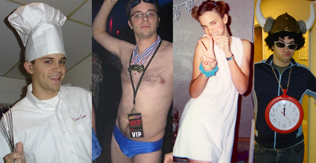 Some Halloween costumes Iu0027ve worn over the years Deaf Chef Michael Phelps Baby Spice Flava Flav.  sc 1 st  Geoff u0027DeafGeoffu0027 Herbert : michael phelps halloween costume  - Germanpascual.Com