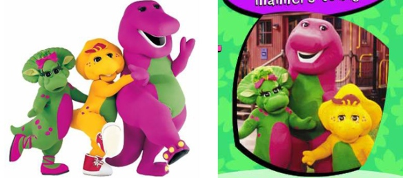 Barney the purple dinosaur