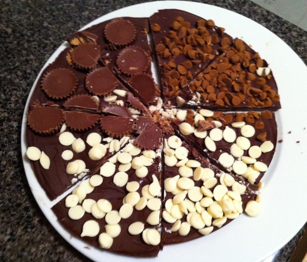 How to make homemade Chocolate Pizza – yum! | Geoff 'DeafGeoff ...