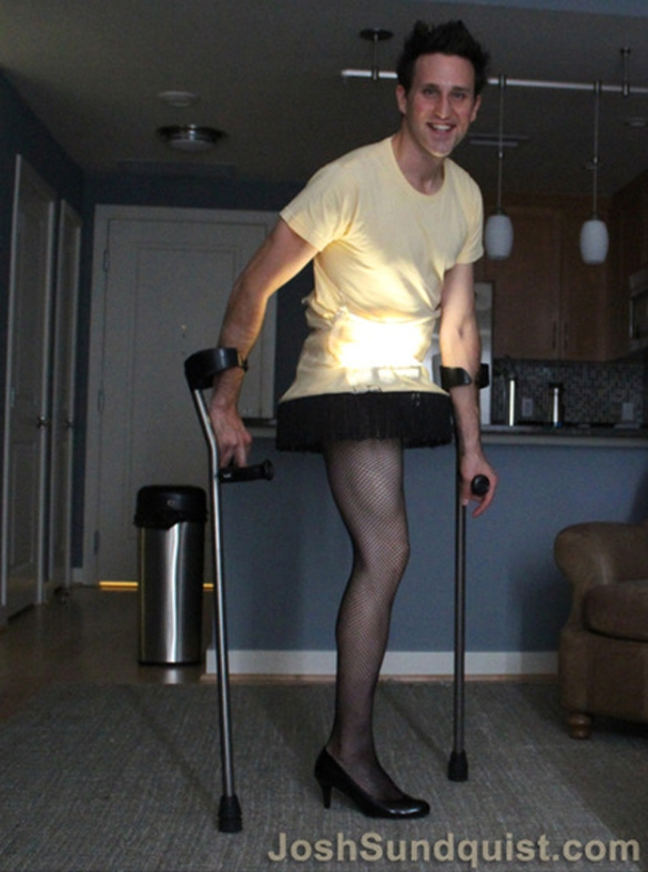 Leg Lamp Halloween costume