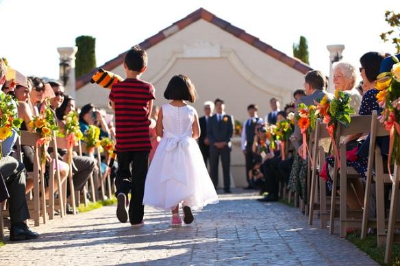 Calvin and Hobbes wedding