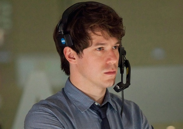 John Gallagher Jr. as ACN producer Jim Harper on The Newsroom