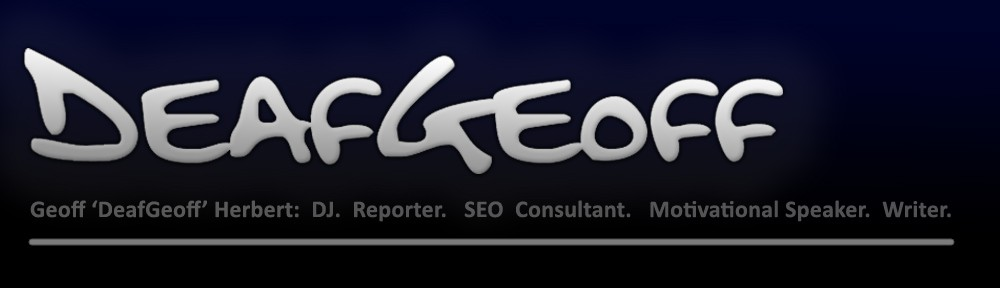 Geoff 'DeafGeoff' Herbert – DJ Services in Syracuse, Writer, SEO, Web Design