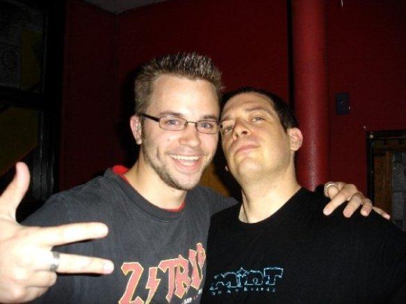 Geoff 'DeafGeoff' Herbert with DJ Z-Trip